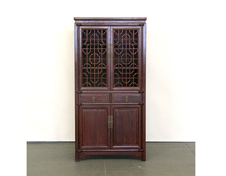 A Ningbo-style cabinet/amoire with latticework doors